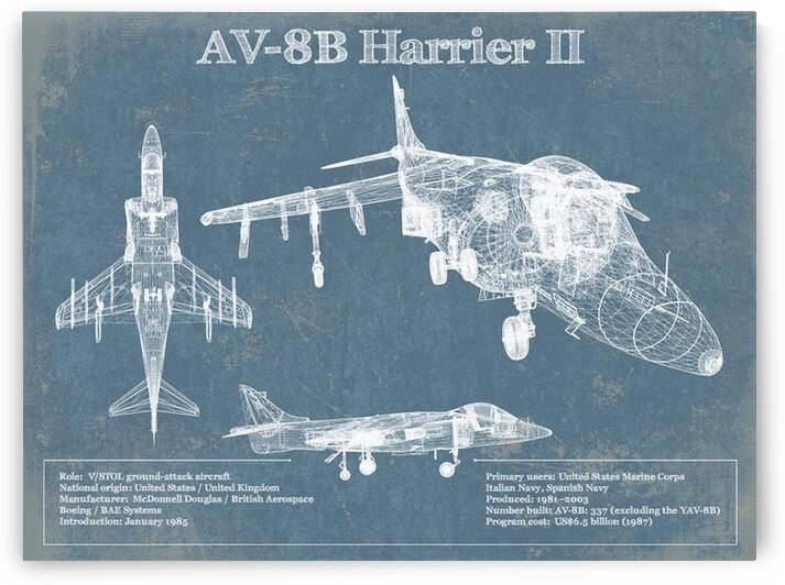 harrierII by Acquired Aviation