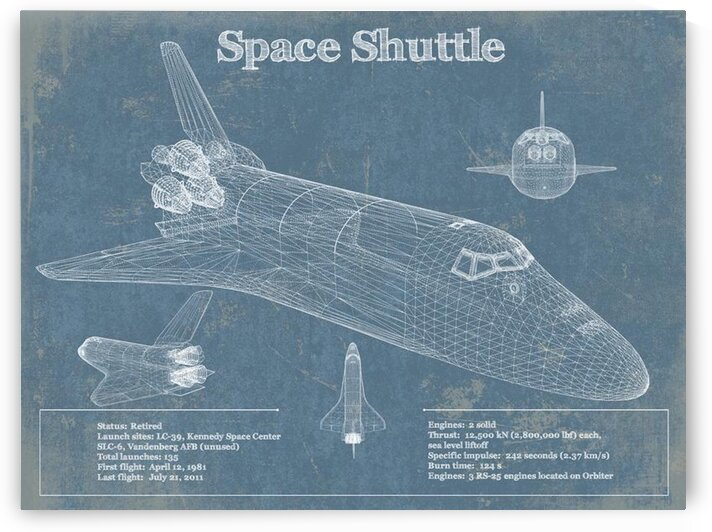 spaceshuttle by Acquired Aviation