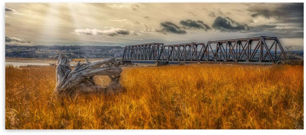 Pont de fer plage Haldimand by Glenn Albert