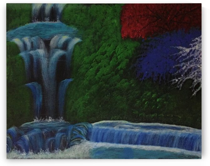 Waterfalls by Earlene Mcclain