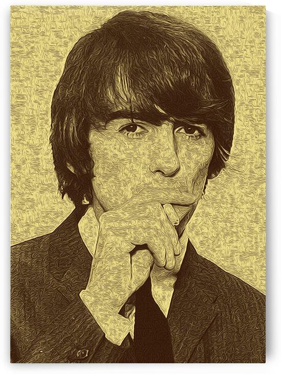 George Harrison Guitarist of the Beatles 1 by RANGGA OZI