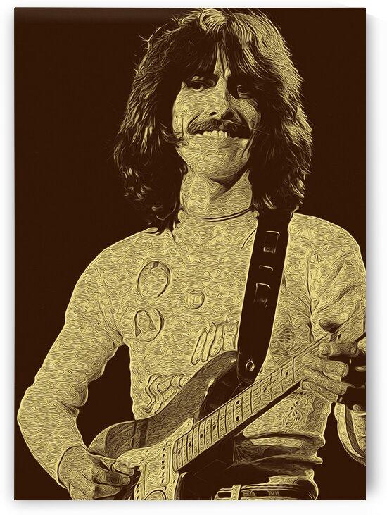 George Harrison Guitarist of the Beatles 8 by RANGGA OZI