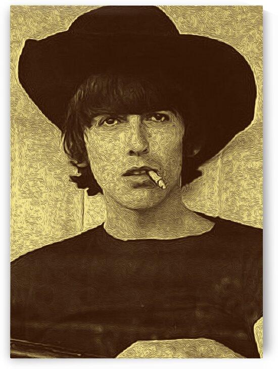 George Harrison Guitarist of the Beatles 7 by RANGGA OZI