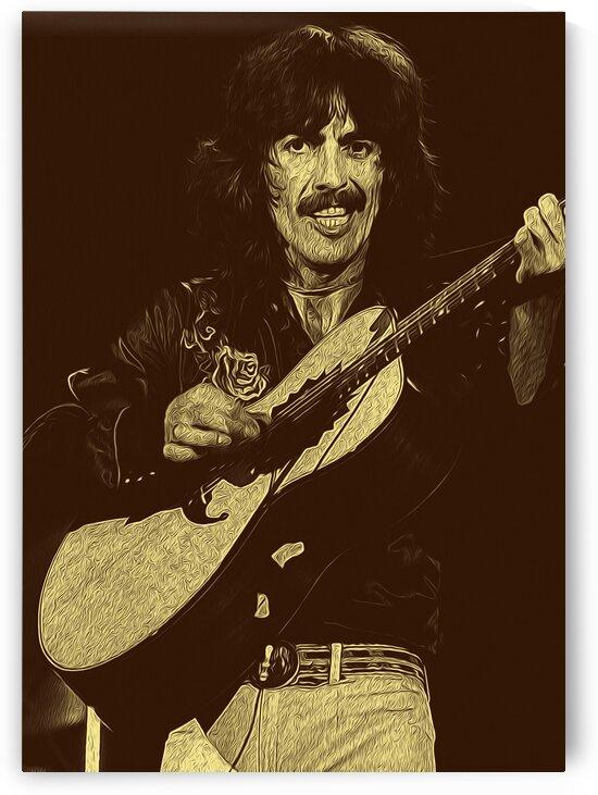 George Harrison Guitarist of the Beatles 24 by RANGGA OZI