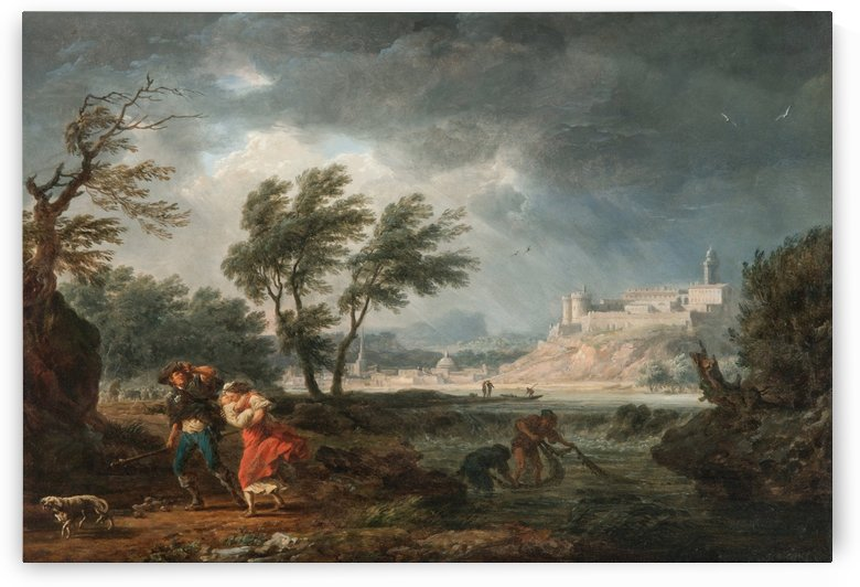 The four times of day - Midday by Claude-Joseph Vernet