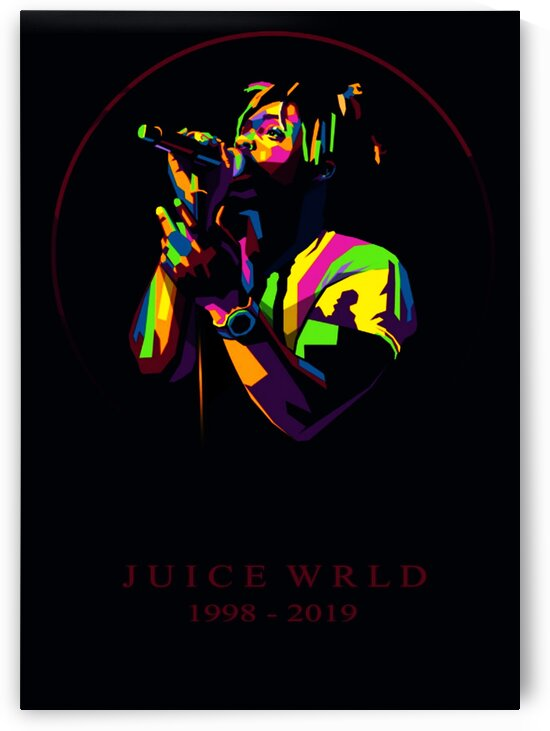 Juice WRLD by Coolbits Art