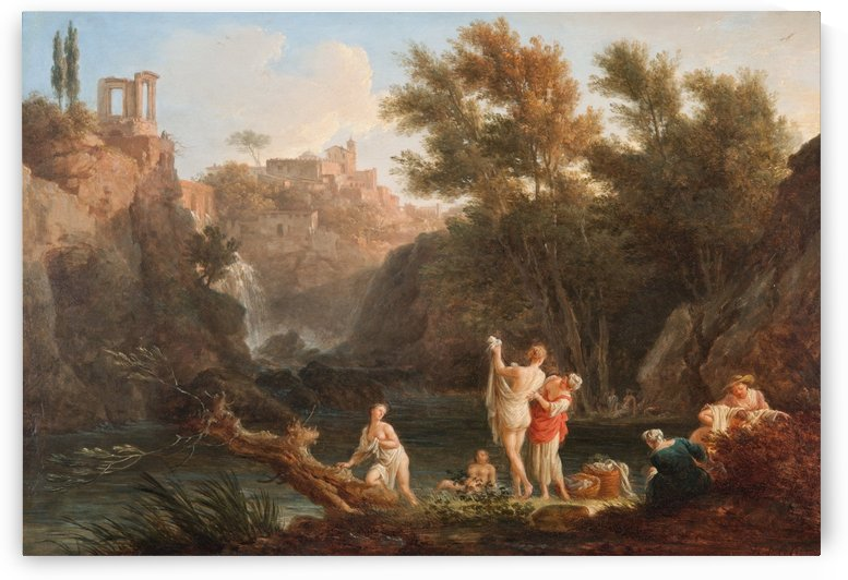 The four times of day - Evening by Claude-Joseph Vernet