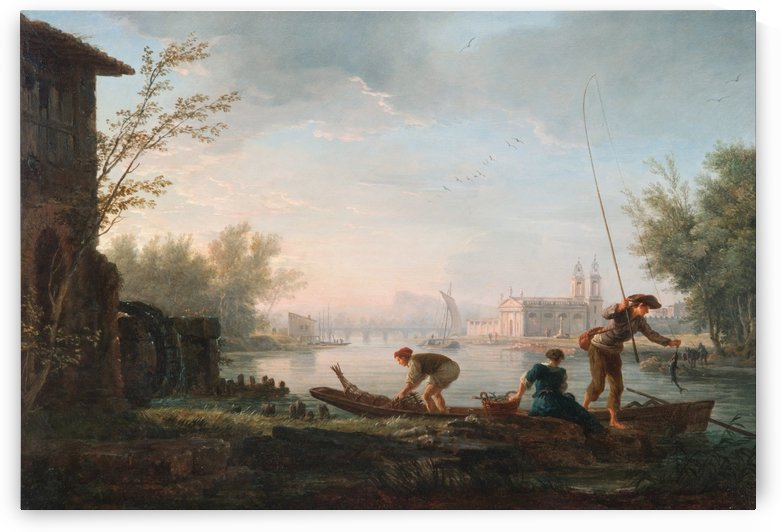 The four times of day - Morning by Claude-Joseph Vernet