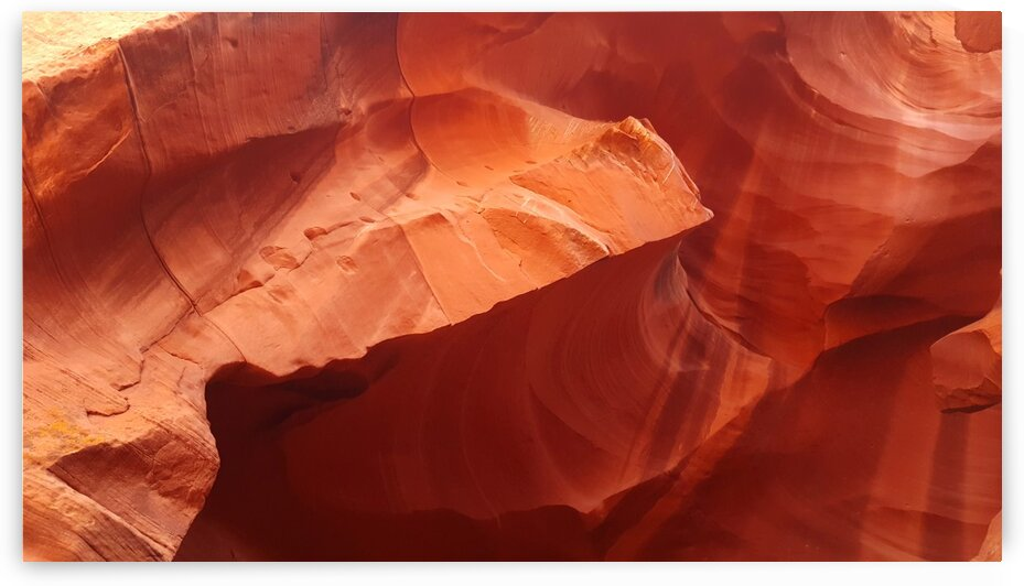 Eroded Wall of Antelope Canyon  by Creative Endeavors - Steven Oscherwitz