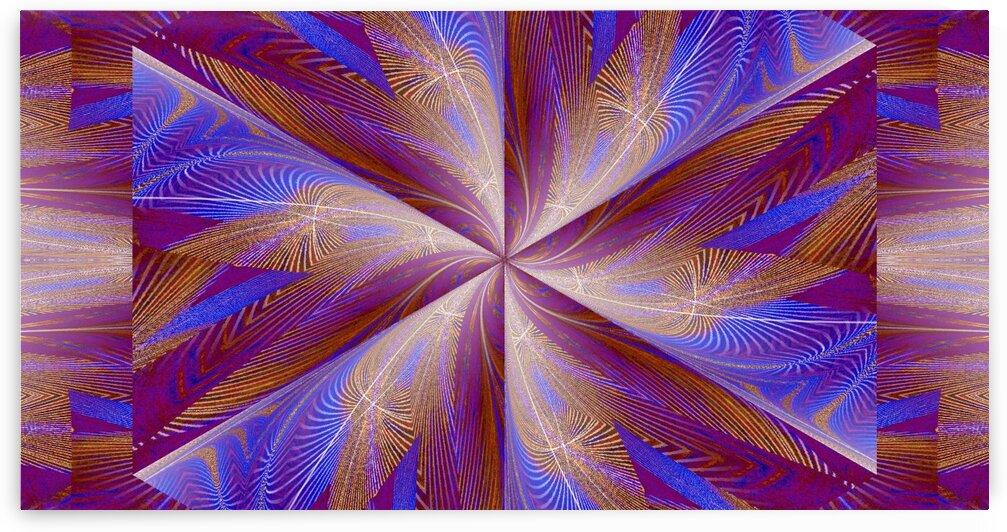 Wildflower In Spiral 5 by Sherrie Larch