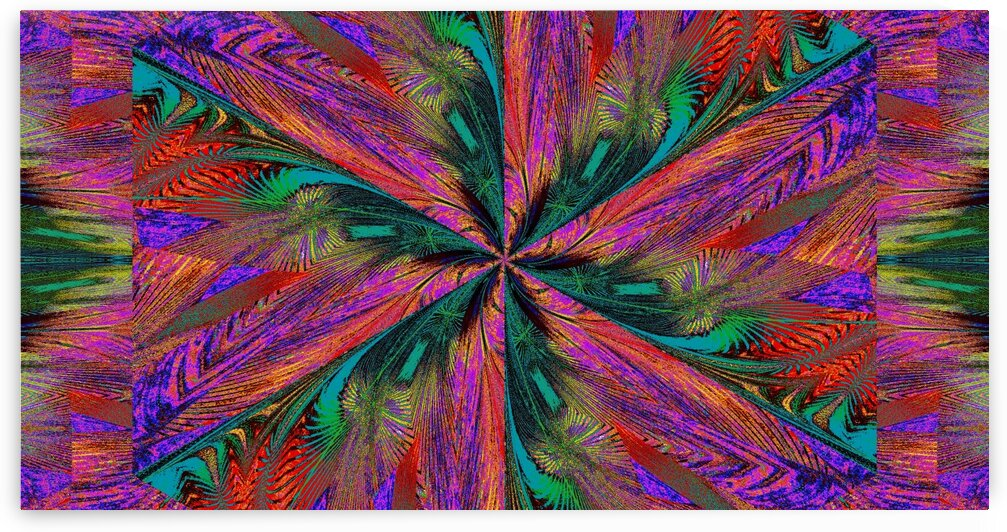 Wildflower In Spiral 11 by Sherrie Larch