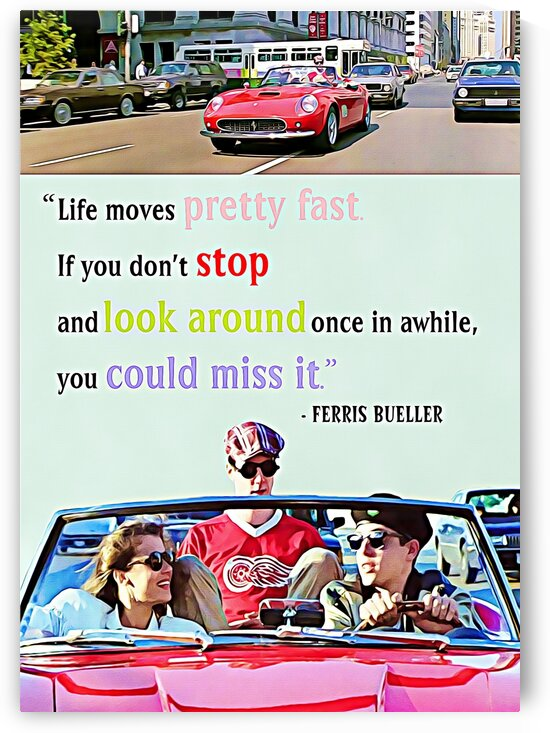 Ferris Bueller Day Off by Bob Frase