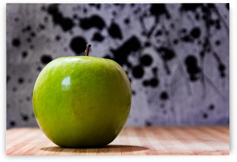 An Apple by Maung Tin