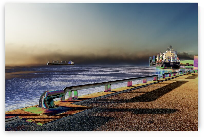 Port de Trois-Rivieres Quebec Canada- Collection EXC-S Art by Sylvain Bergeron Photographies