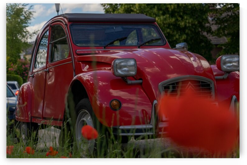 Red Car by C-Nick Photography