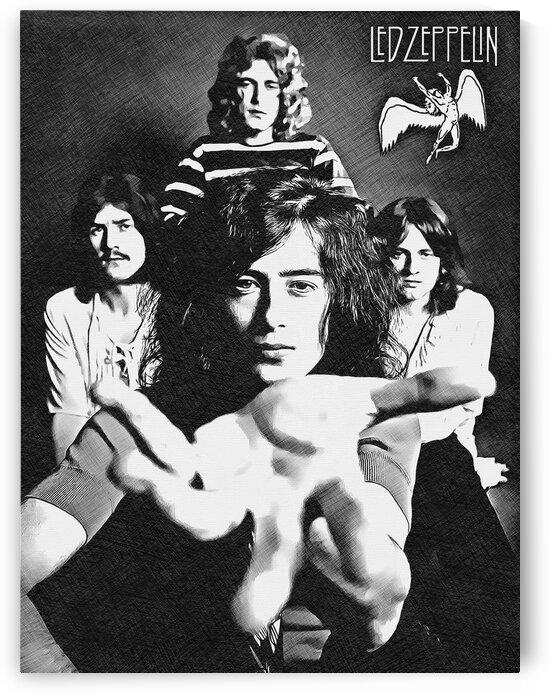 Led Zeppelin by Bob Frase