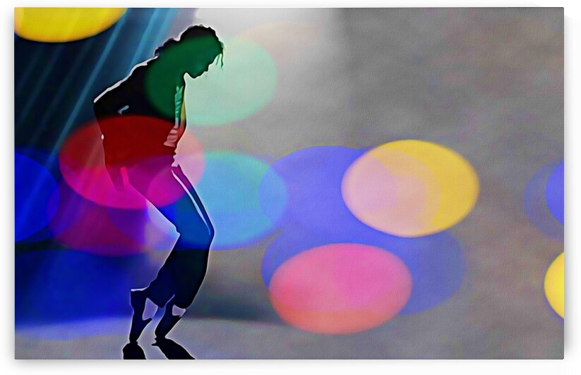 Michael Jackson Moonwalker by Bob Frase