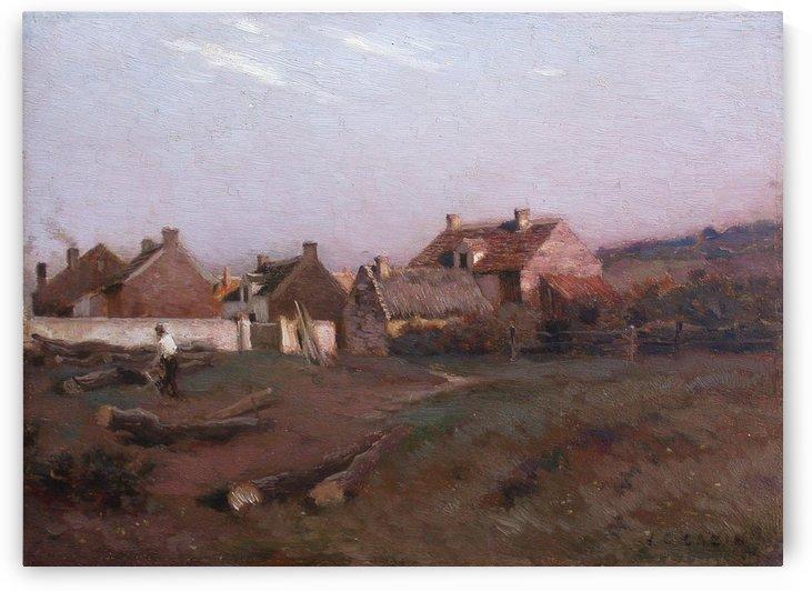 Paysage by Claude-Joseph Vernet