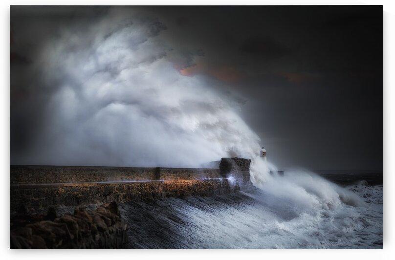 Hurricane Ophelia at Porthcawl by Leighton Collins