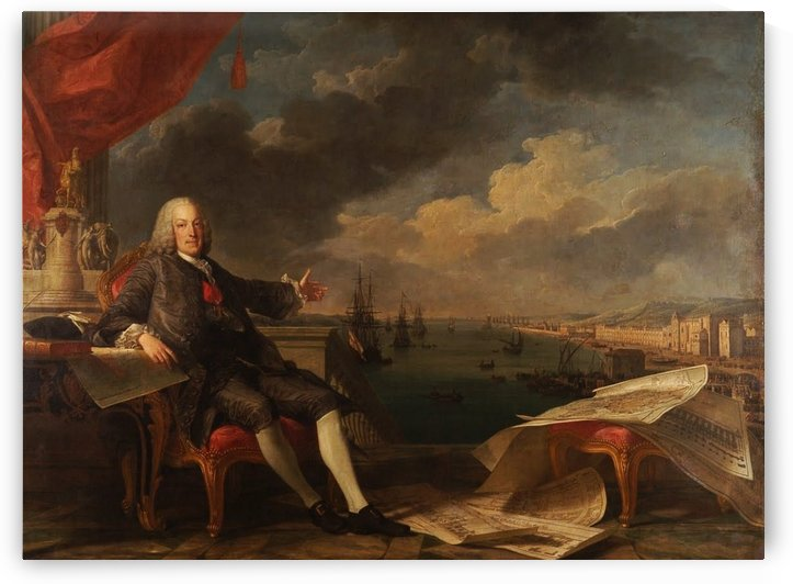 Portrait of the Marquis of Pombal by Claude-Joseph Vernet