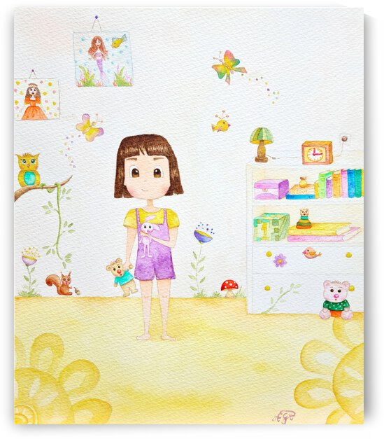 My Colourful Room by Feerie