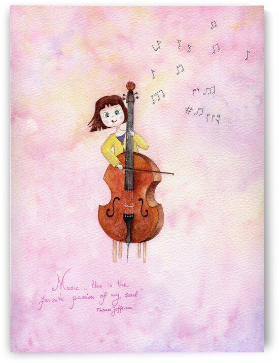 The Cello Lesson by Feerie