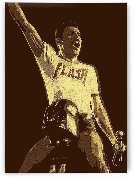 Freddie Mercury The Legendary Queen vocalist 2 by RANGGA OZI