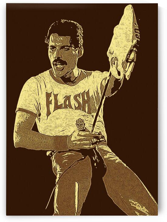 Freddie Mercury The Legendary Queen vocalist 5 by RANGGA OZI