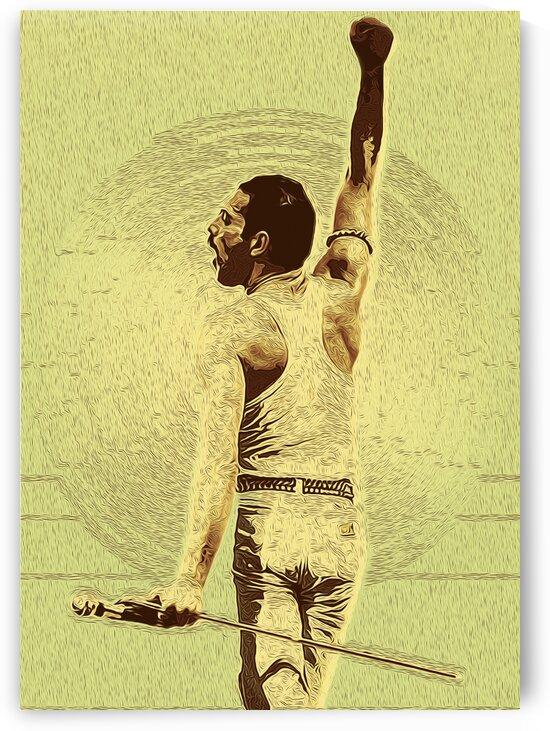 Freddie Mercury The Legendary Queen vocalist 6 by RANGGA OZI