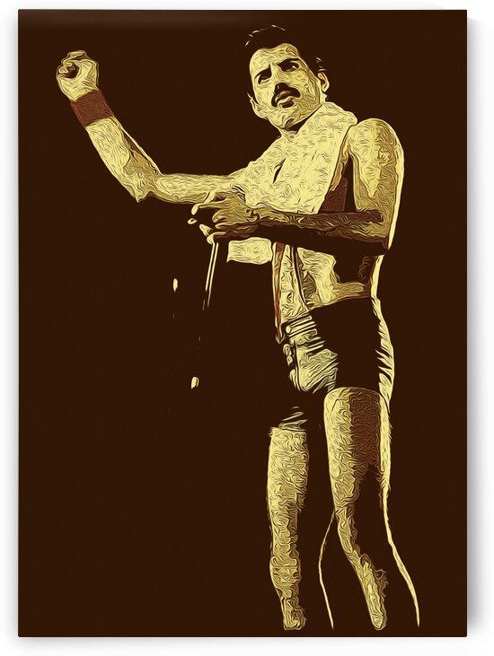 Freddie Mercury The Legendary Queen vocalist 112 by RANGGA OZI