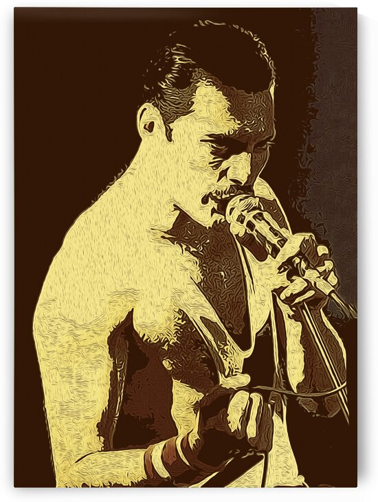 Freddie Mercury The Legendary Queen vocalist 11 by RANGGA OZI