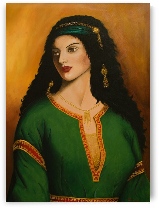 Girl with Green Blouse by Feerie