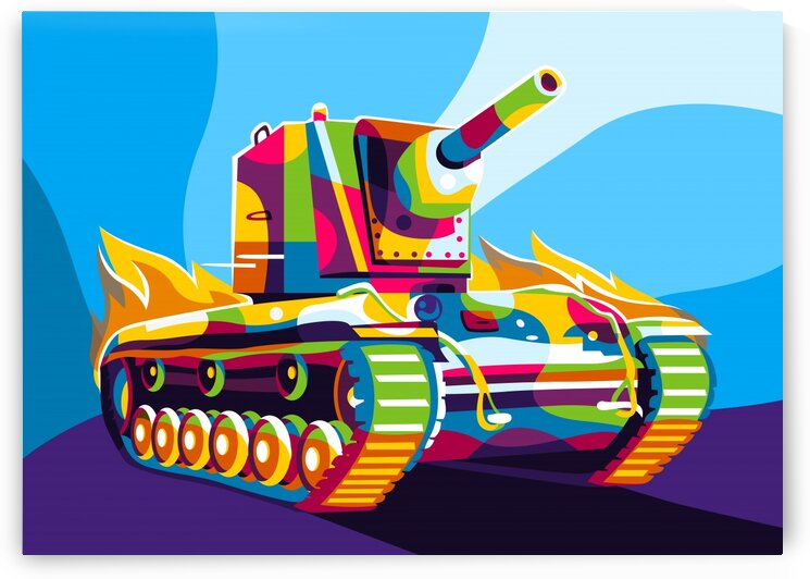 KV-2 Tank by wpaprint