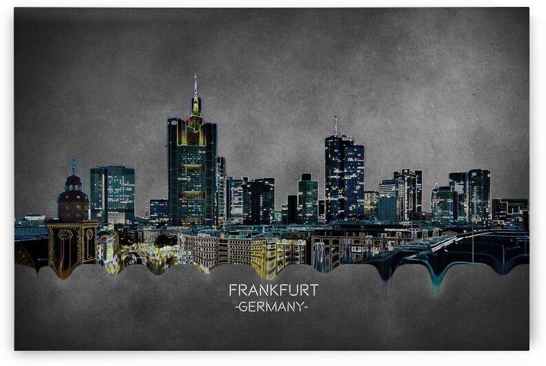 Frankfurt Germany  Skyline by Angel