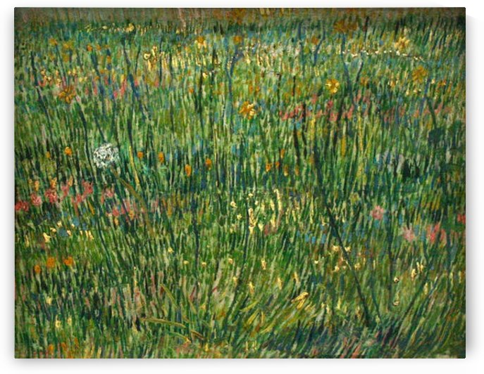 Patch of grass by Van Gogh by Van Gogh
