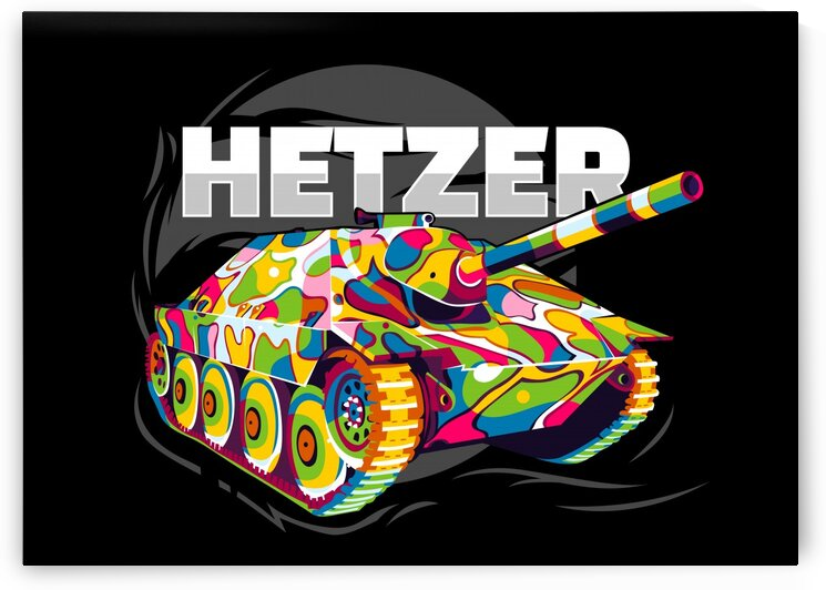 Panzer 38 t Hetzer by wpaprint