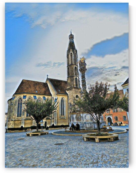 Goat Church by Ferenc Lengyel
