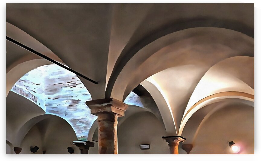 Italian Vaulted Ceiling by Dorothy Berry-Lound