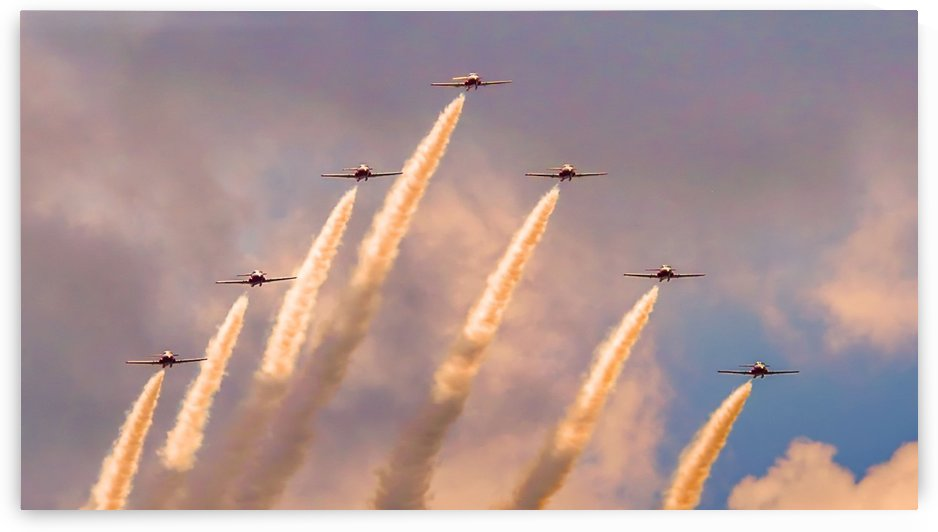 431 Air Demonstration Squadron by Tracy Bennett