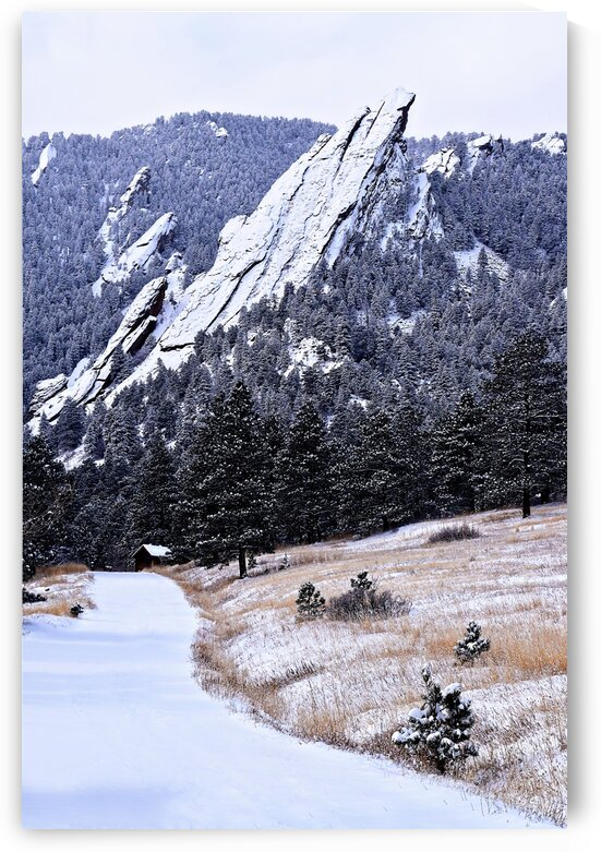 Boulder Flatirons by Wagner Photography