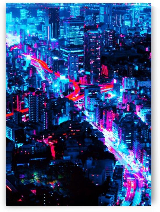 Neon City by Creative Art