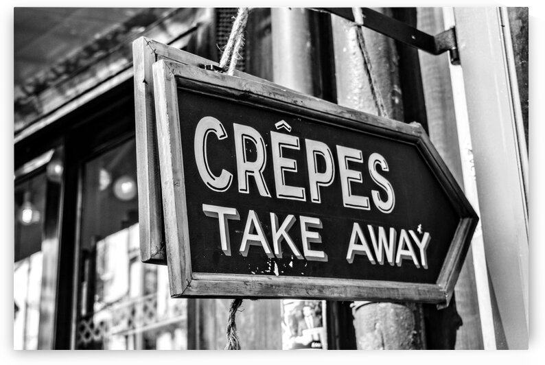 Crepes For Sale by Wagner Photography