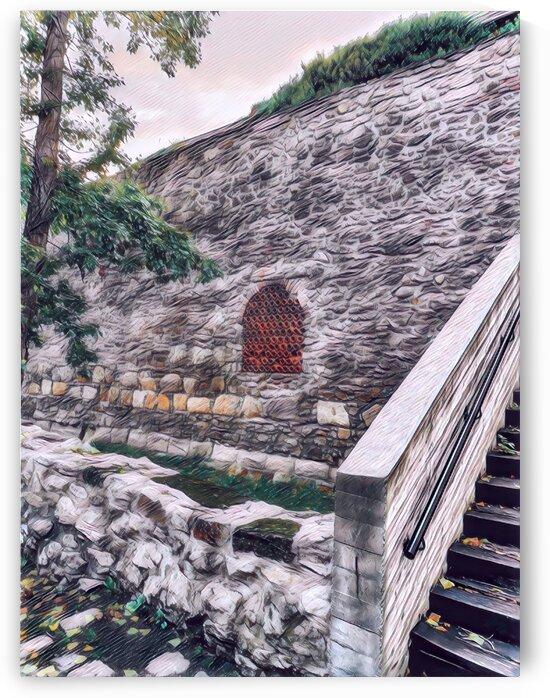 City Wall Eye by Ferenc Lengyel