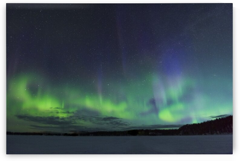 Aurora Borealis over Finland by Vladimir Koss