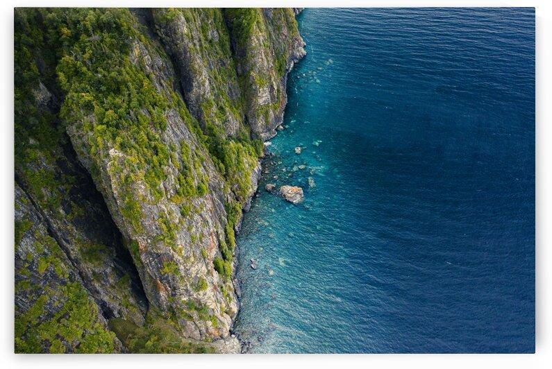 Cliffs of Old Woman Bay  by Marko Radovanovic