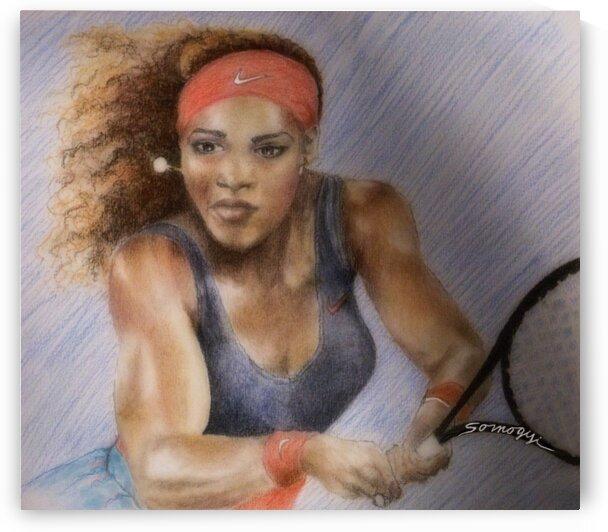 Serena Williams by Jayne Somogy