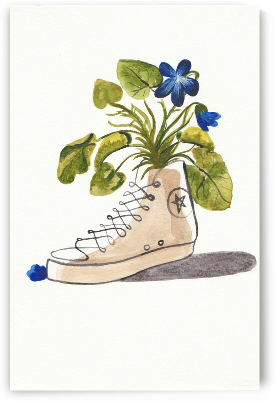 Chucks and Flowers  by By DBianca
