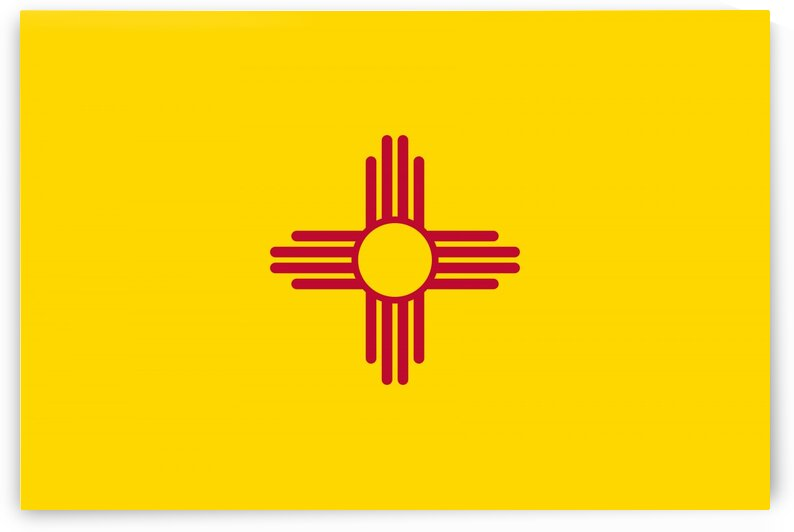 New Mexico State Flag by Fun With Flags