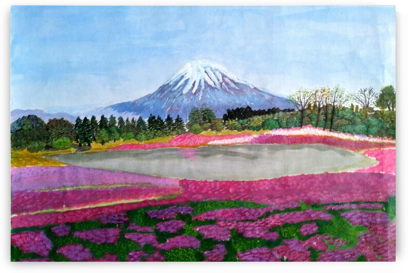 Mount Fuji  by MKulArts