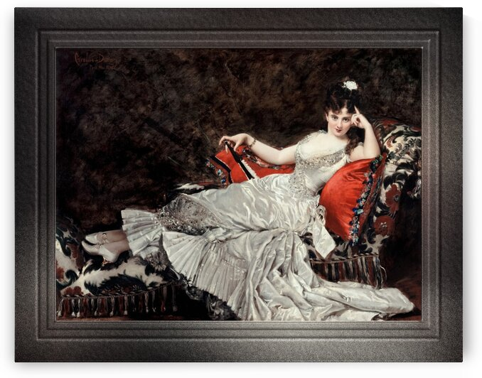 Mademoiselle de Lancey by Carolus-Duran Fine Art Old Masters Reproduction by xzendor7